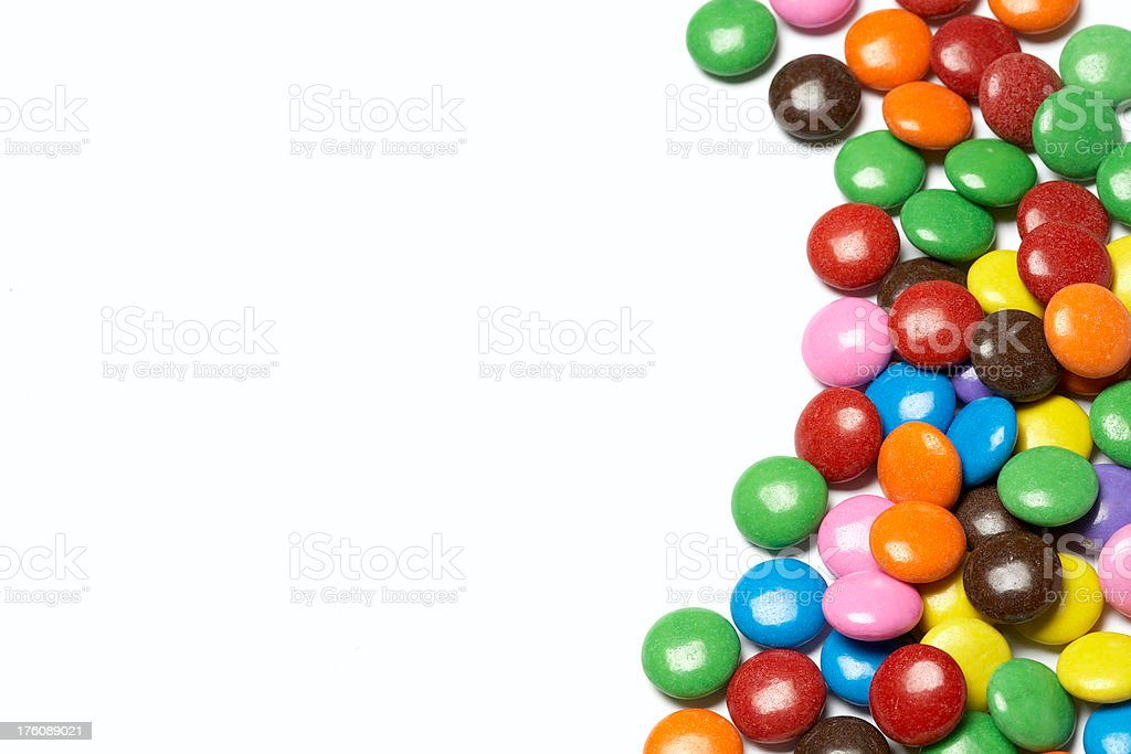 Colorful Chocolate Candies royalty-free stock photo