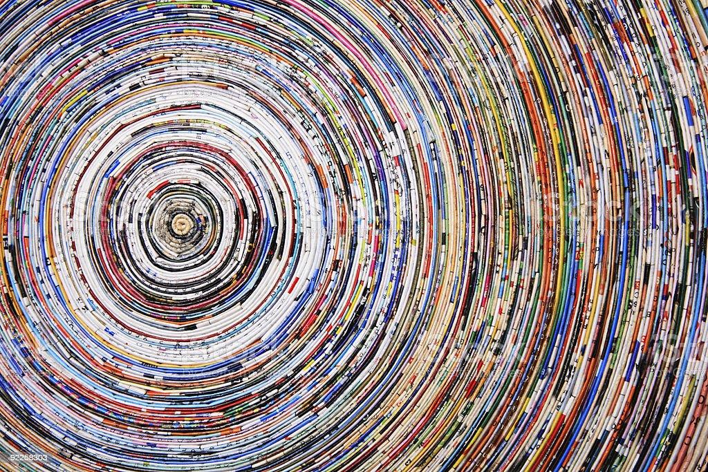 colorful circles royalty-free stock photo
