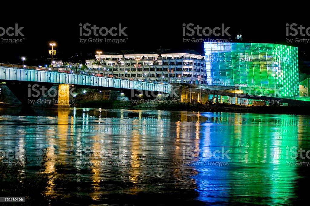 Colorful Cityscape stock photo