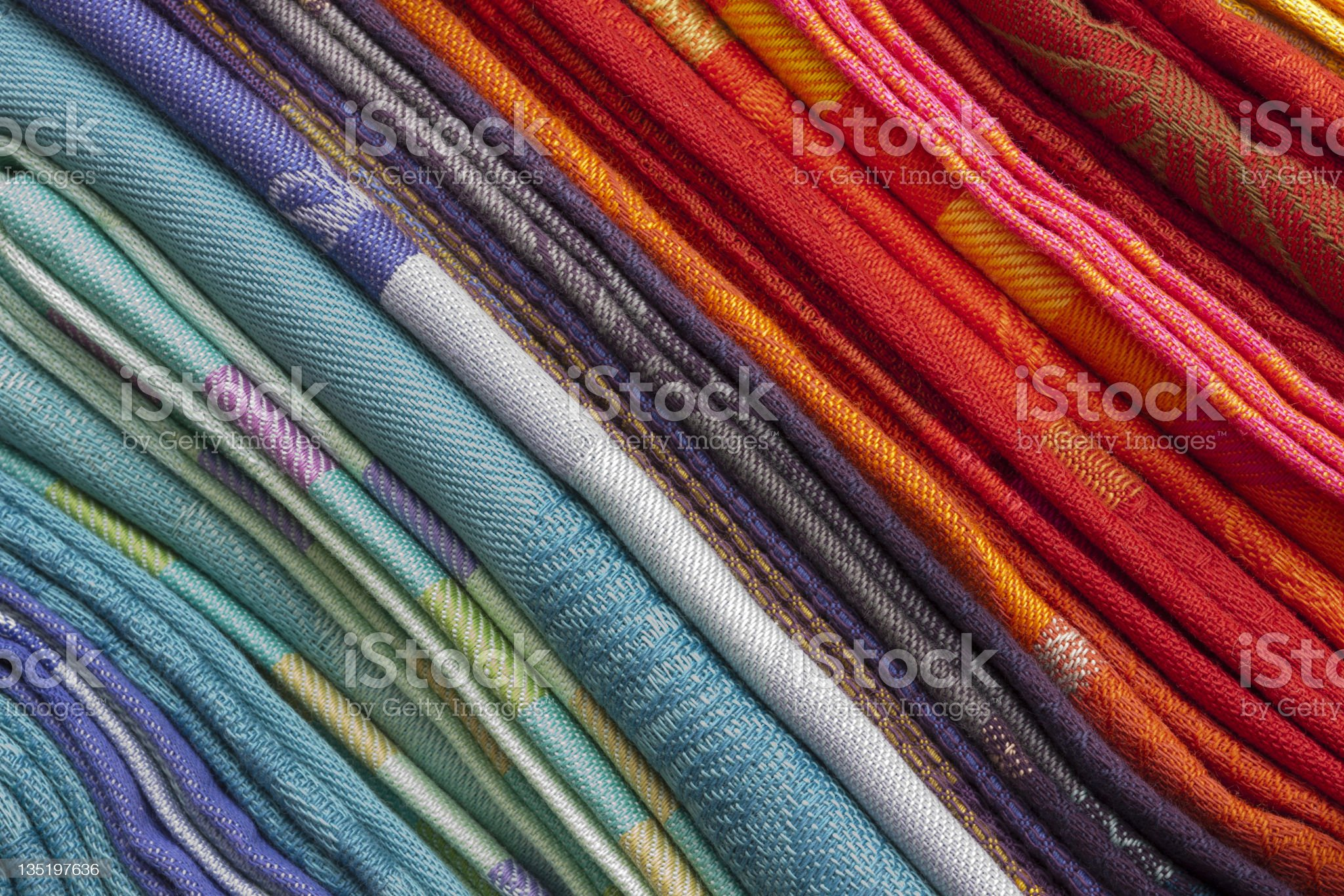 Colorful cloths royalty-free stock photo