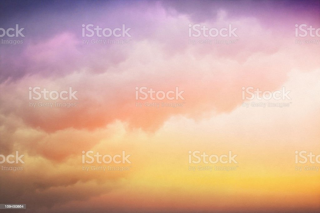 Colorful Cloud Gradient stock photo