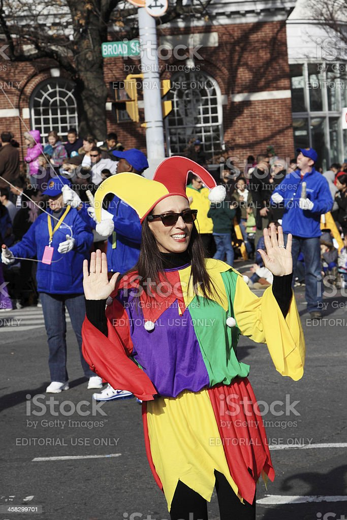 colorful clown royalty-free stock photo