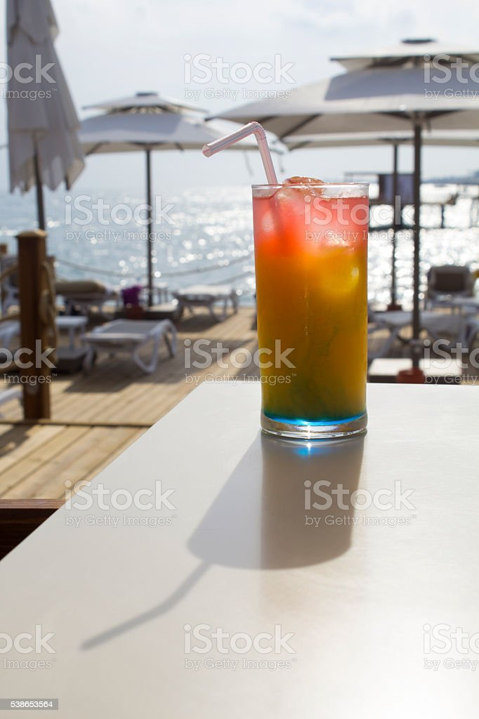 Colorful Coctail stock photo