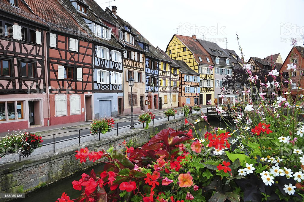 Colorful Colmar stock photo