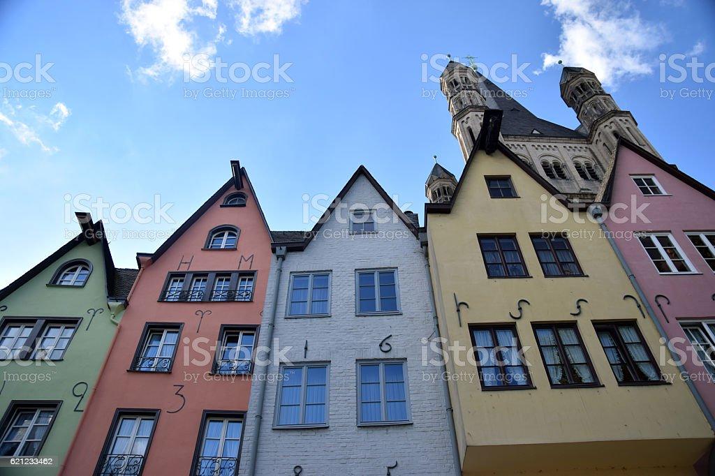 Colorful Cologne 5 stock photo