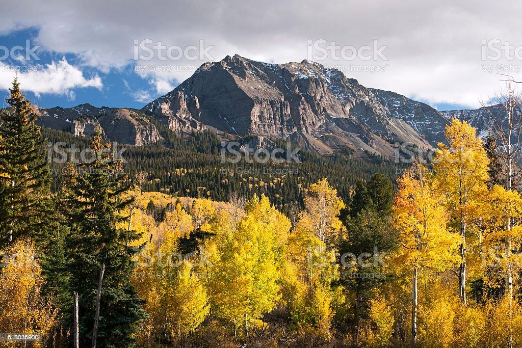 Colorful Colorado stock photo