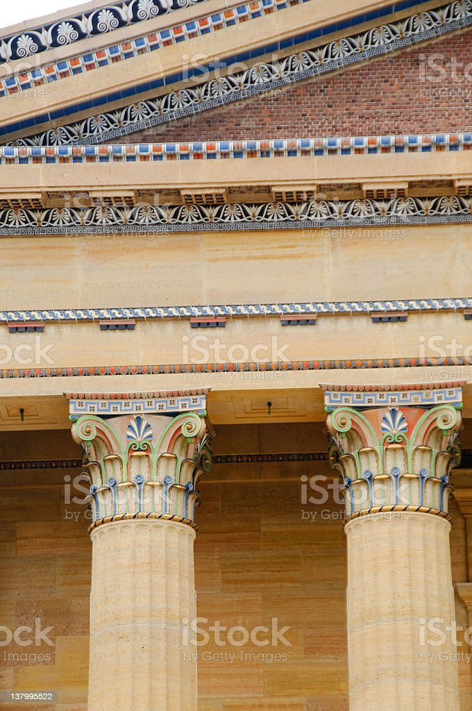Colorful column royalty-free stock photo