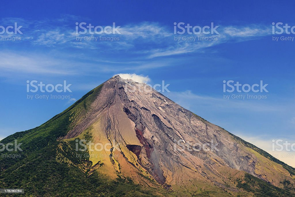 Colorful Conception Volcano stock photo