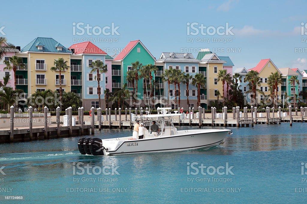 Colorful Condominiums stock photo
