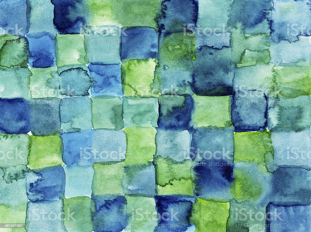 Colorful cool blocks background royalty-free stock photo