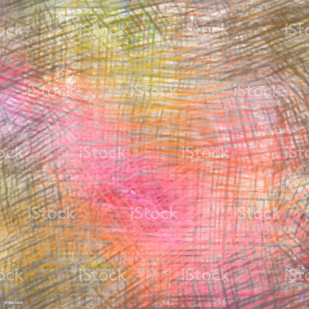 Colorful crayon drawings background texture stock photo