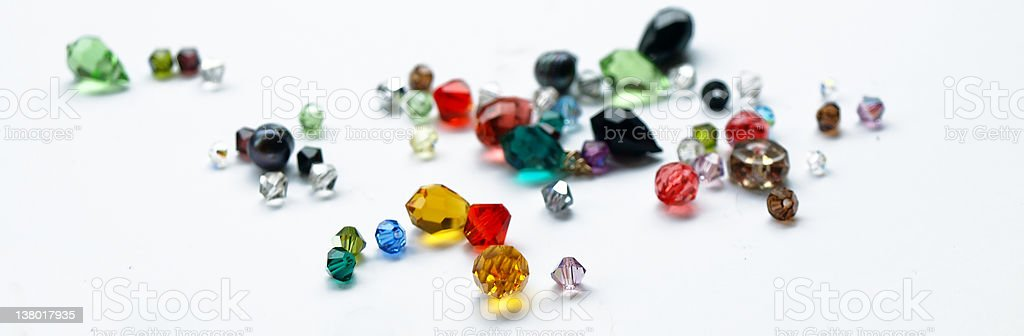 colorful crystals royalty-free stock photo
