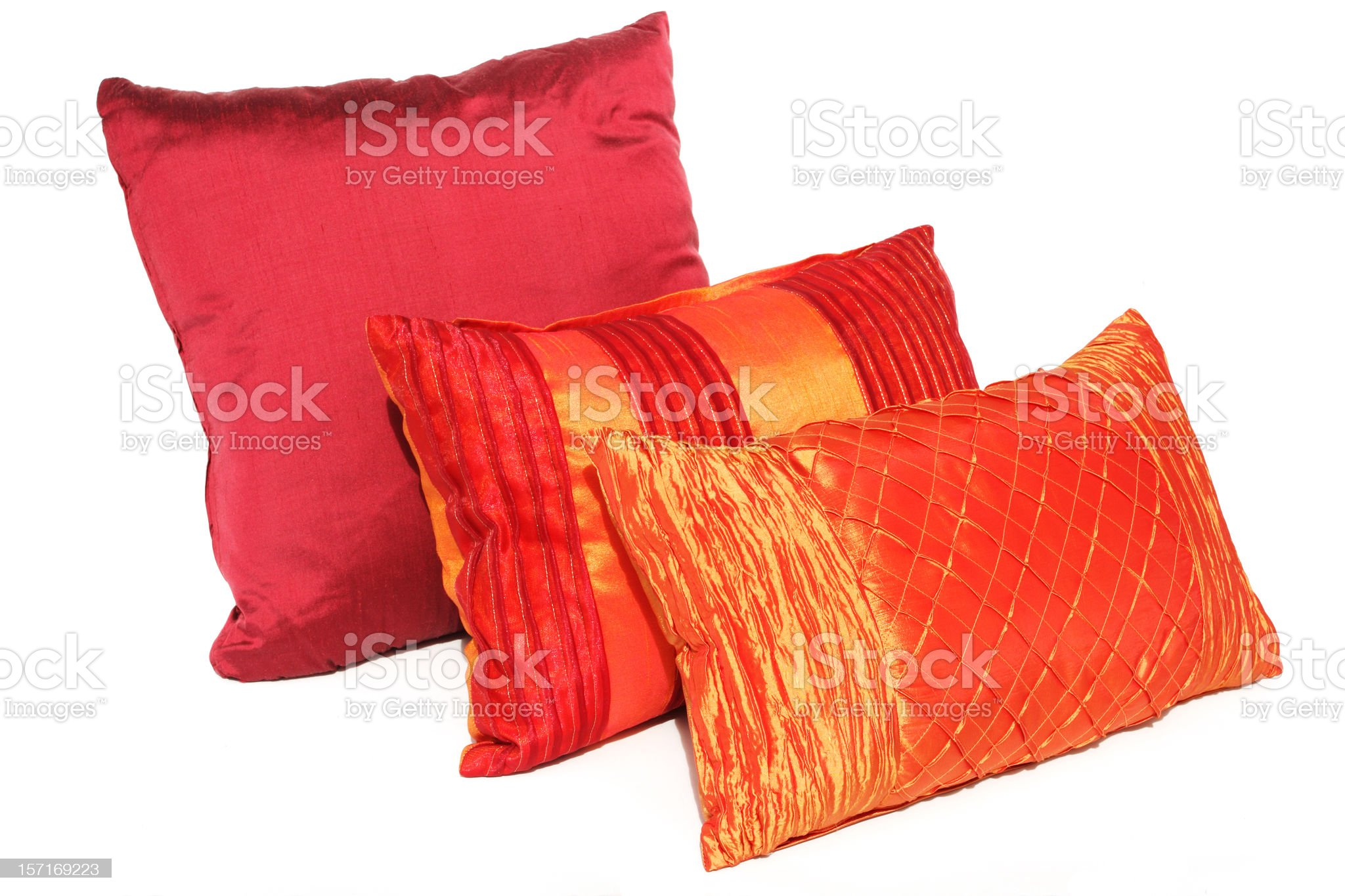 colorful cushions royalty-free stock photo