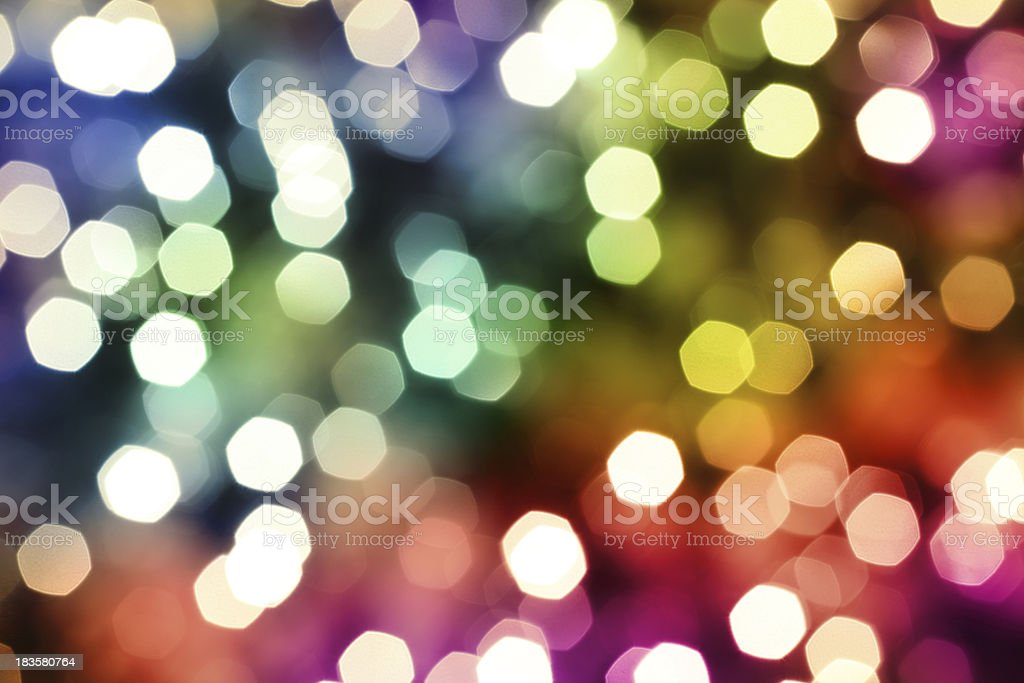 Colorful Defocused Lights stock photo