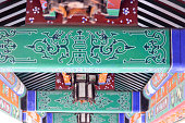 Colorful detail in Chinese Architecture