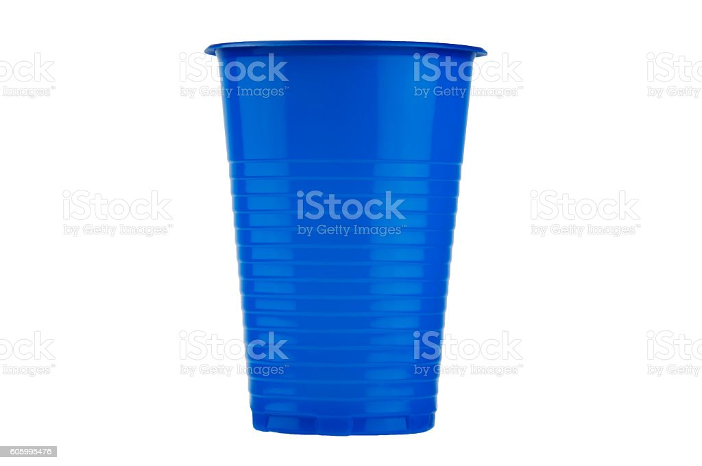 Colorful disposable cup stock photo