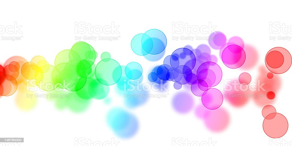 colorful dots royalty-free stock photo