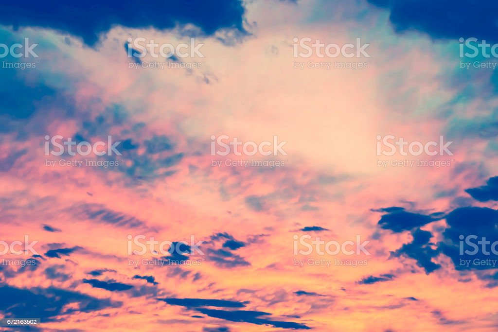 colorful dramatic sky stock photo