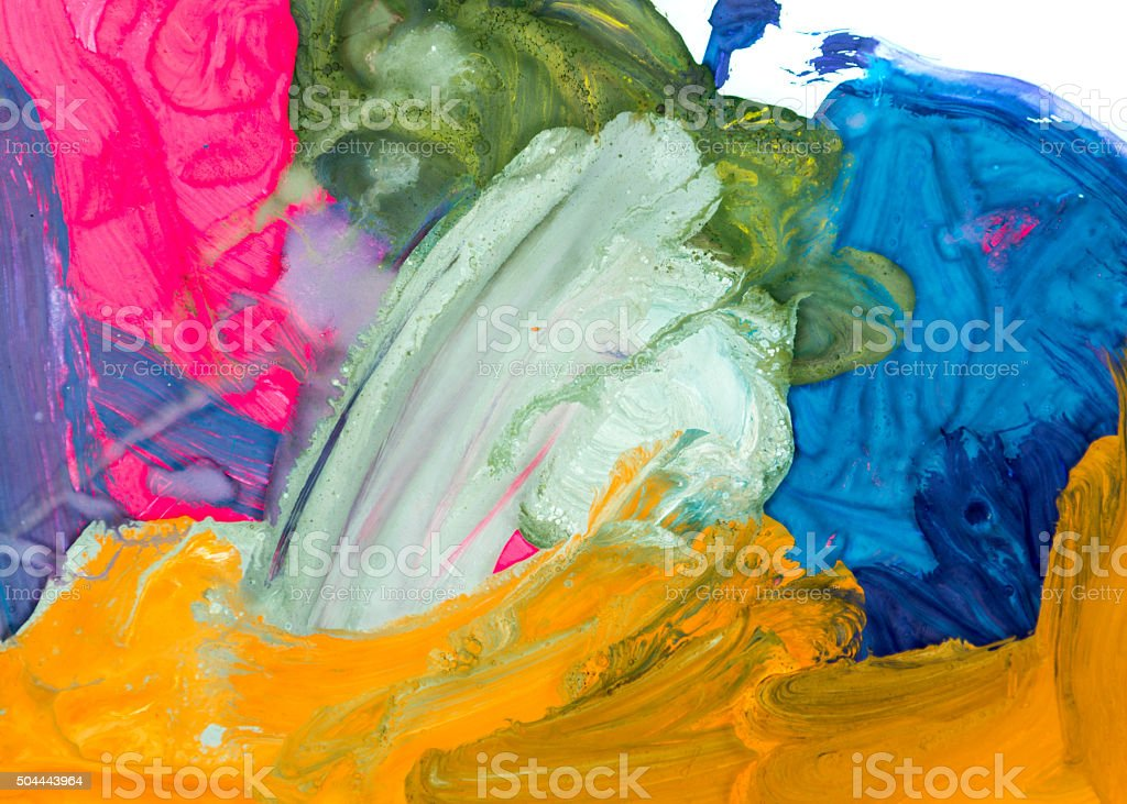 Colorful Drawing Background stock photo