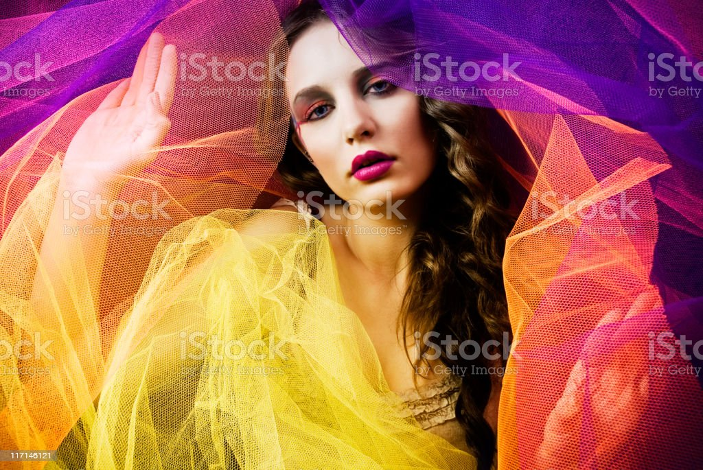 Colorful Dreams of Lola royalty-free stock photo