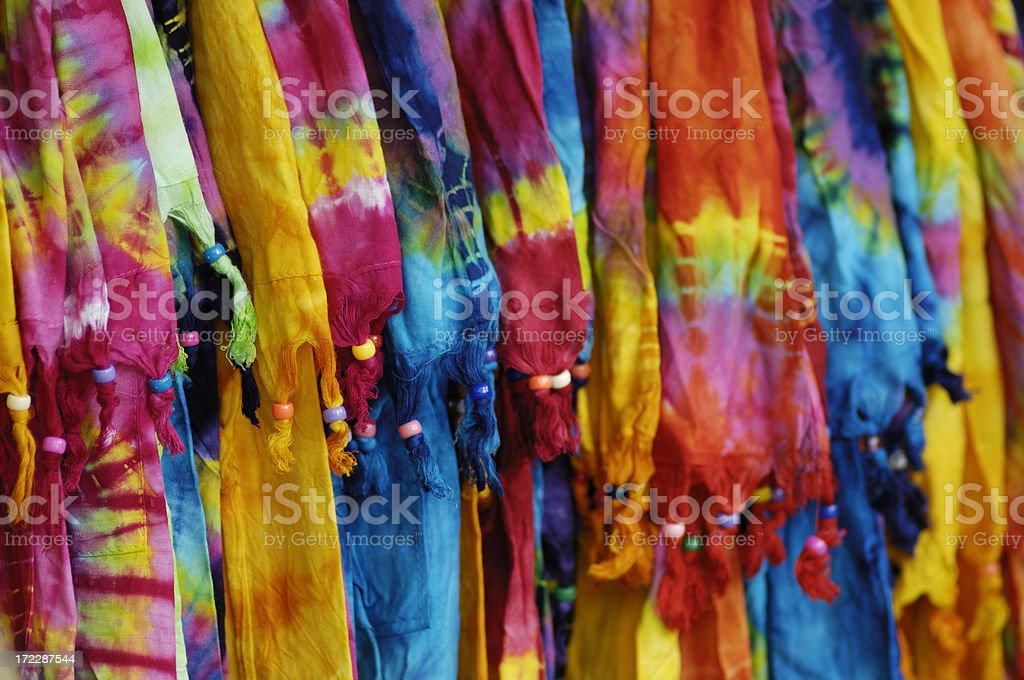 Colorful dresses stock photo