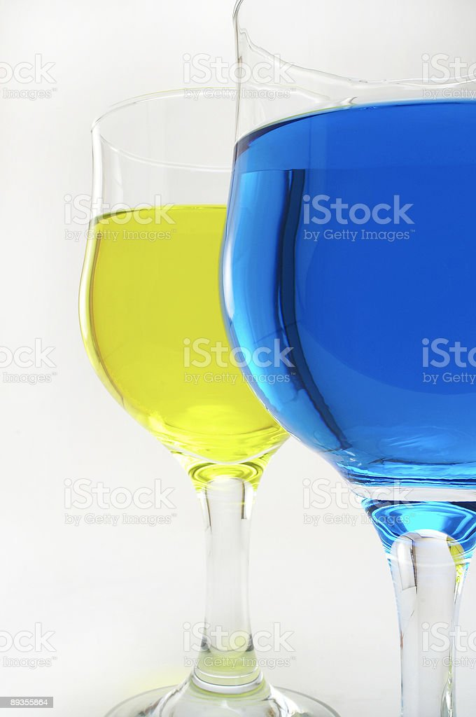 Colorful Drinking royalty-free stock photo