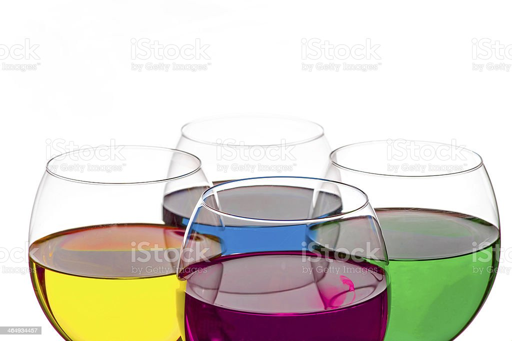 Colorful Drinks royalty-free stock photo