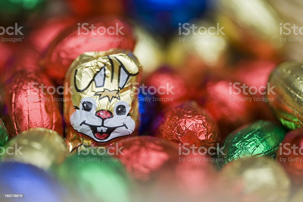 Colorful Easter royalty-free stock photo