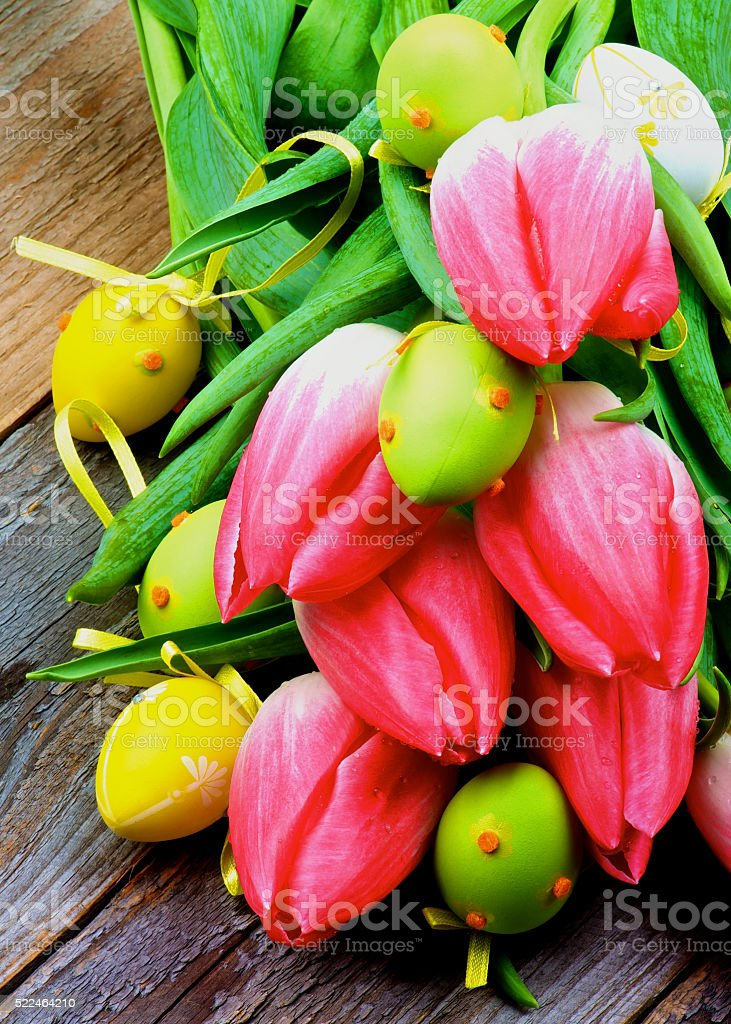 Colorful Easter Theme stock photo