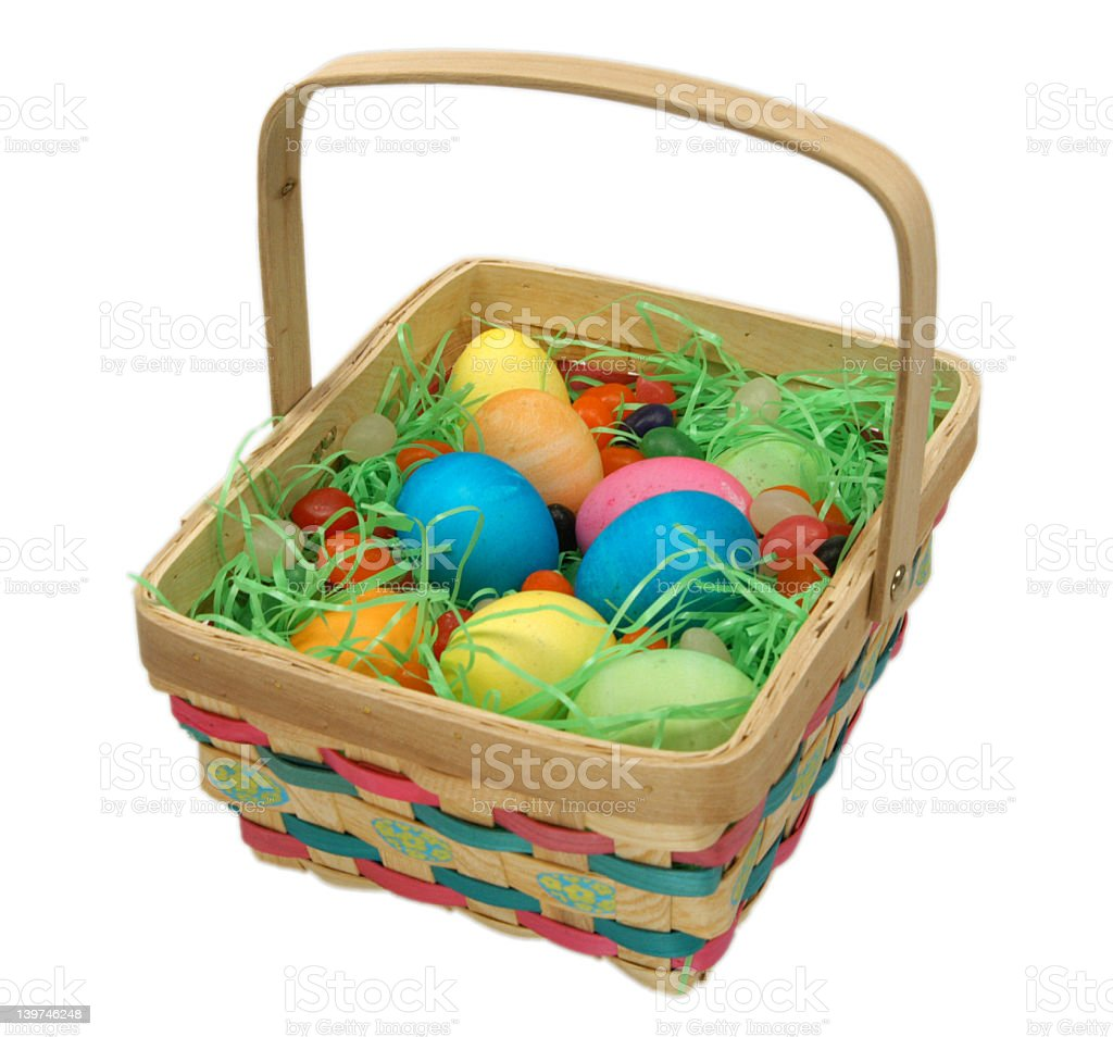 Colorful Easter Thoughts royalty-free stock photo