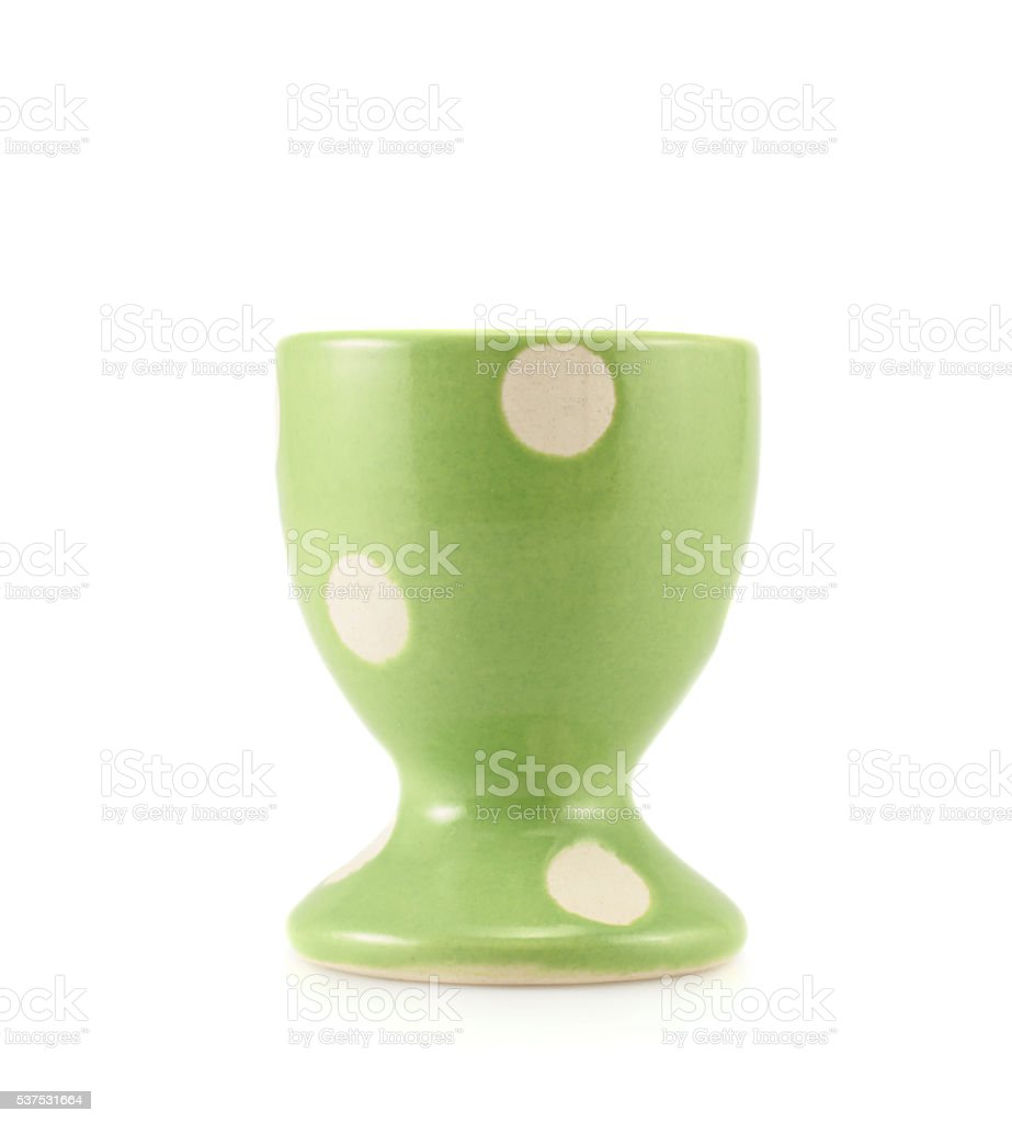 Colorful empty egg holder stock photo
