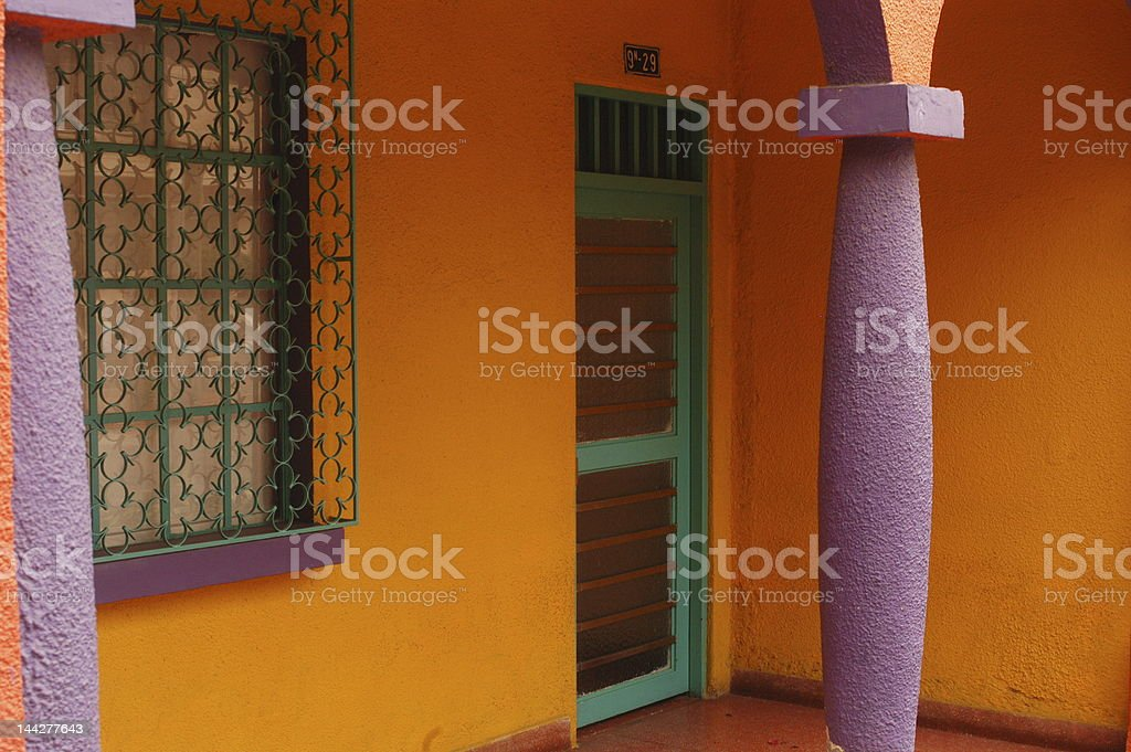 Colorful Entry royalty-free stock photo