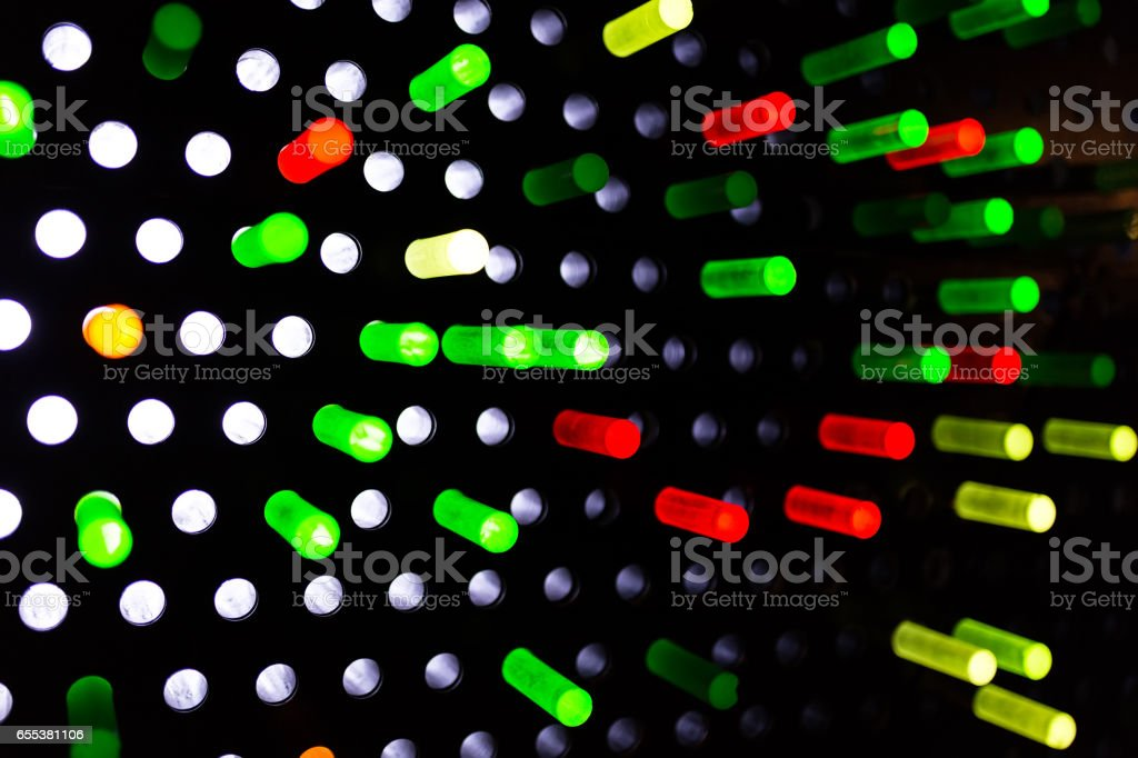 Colorful equipment abstract stock photo
