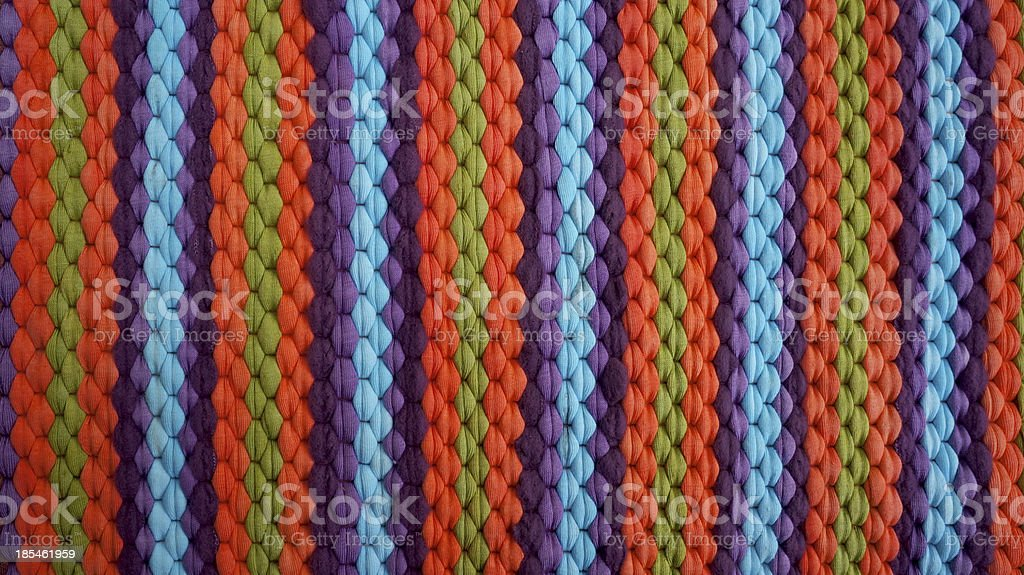 colorful fabric mat royalty-free stock photo