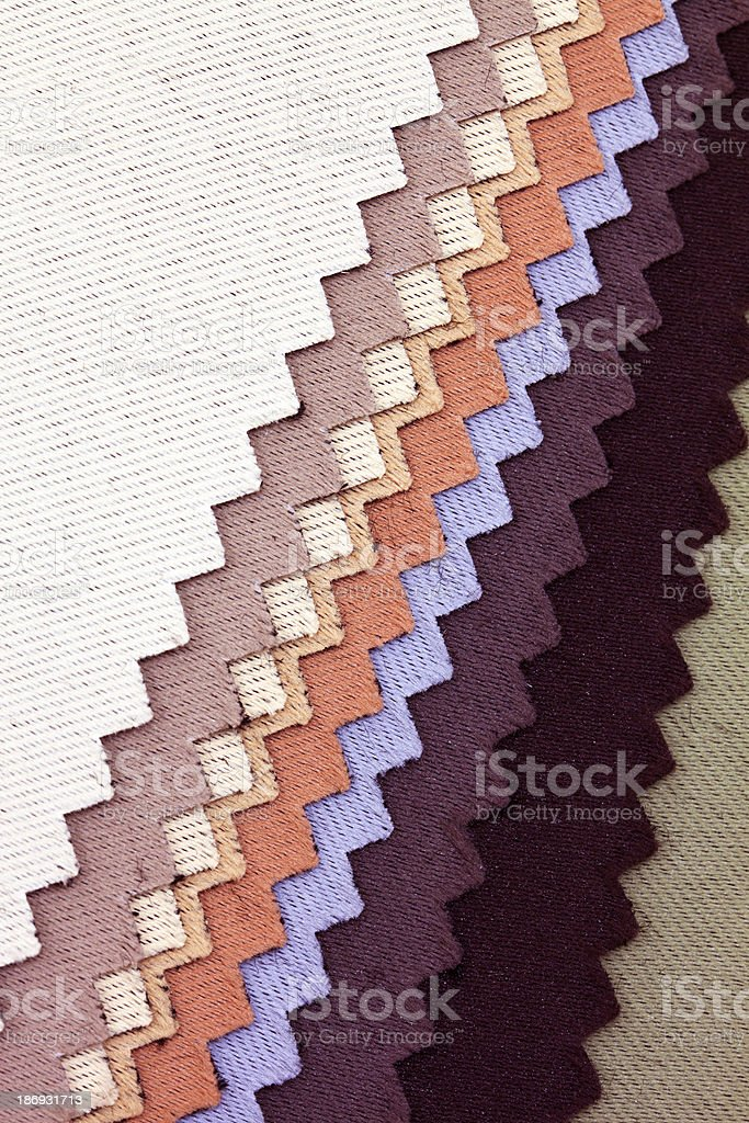 Colorful Fabric Wallpapers background stock photo