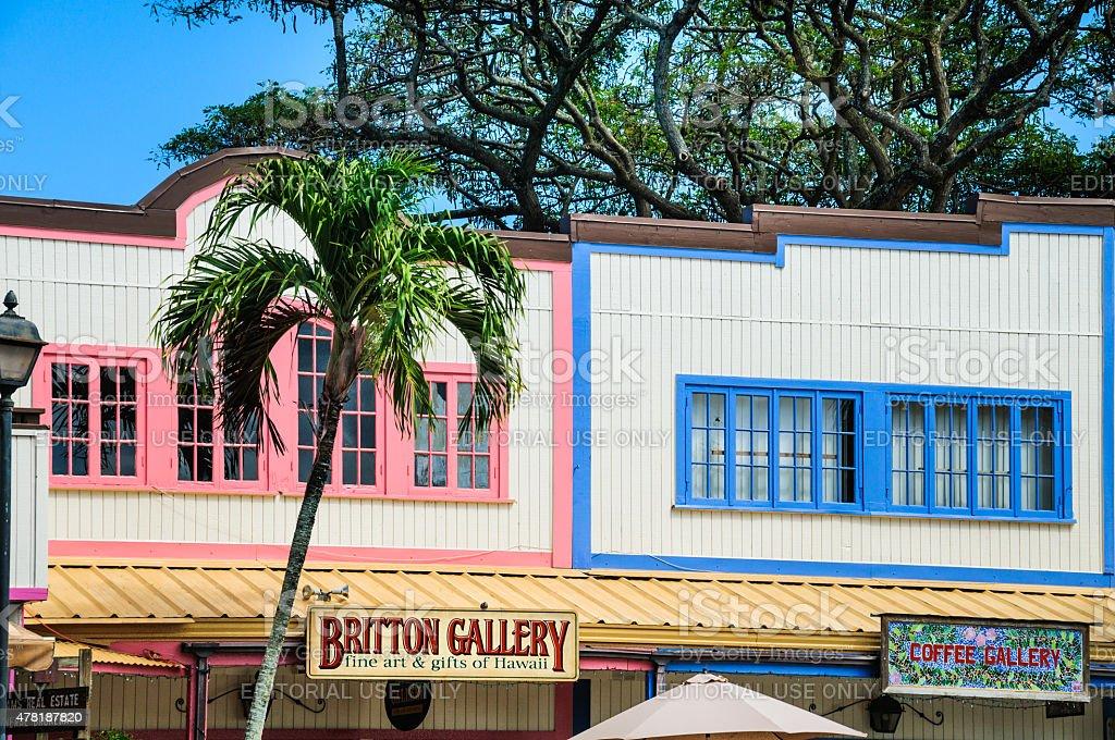 Colorful Facades stock photo