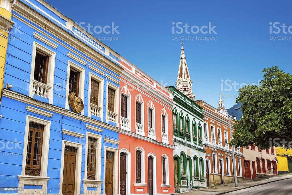 Colorful Facades stock photo