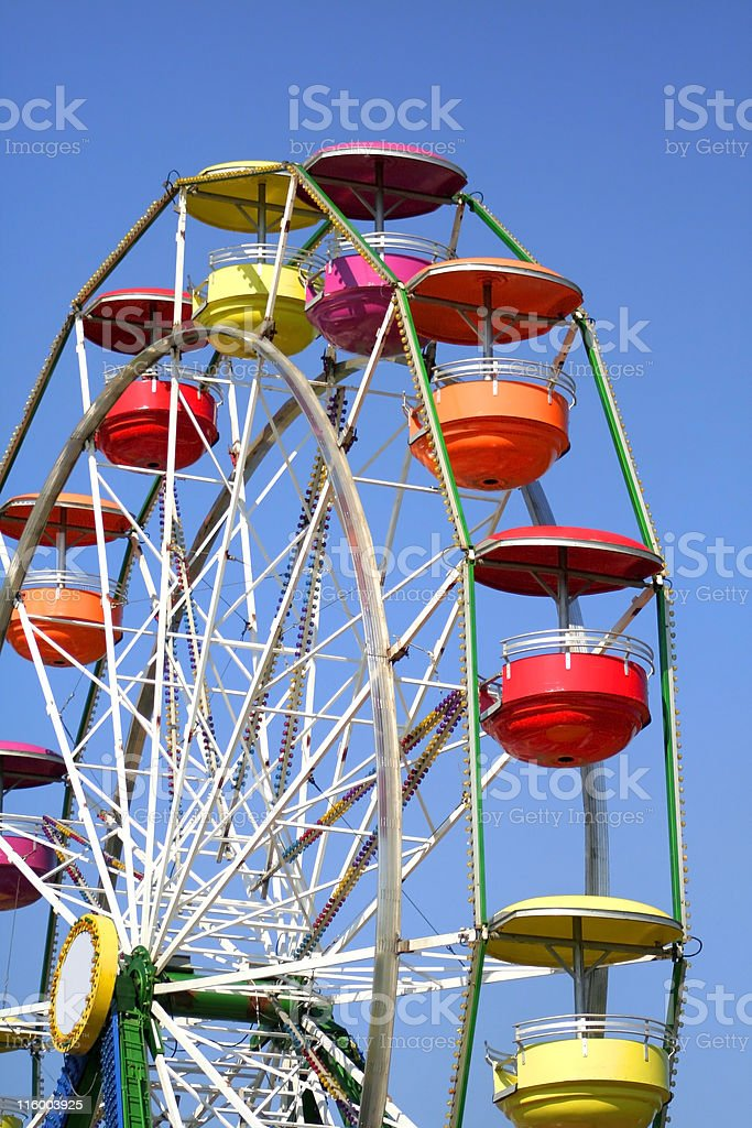 Colorful Ferris Wheel royalty-free stock photo