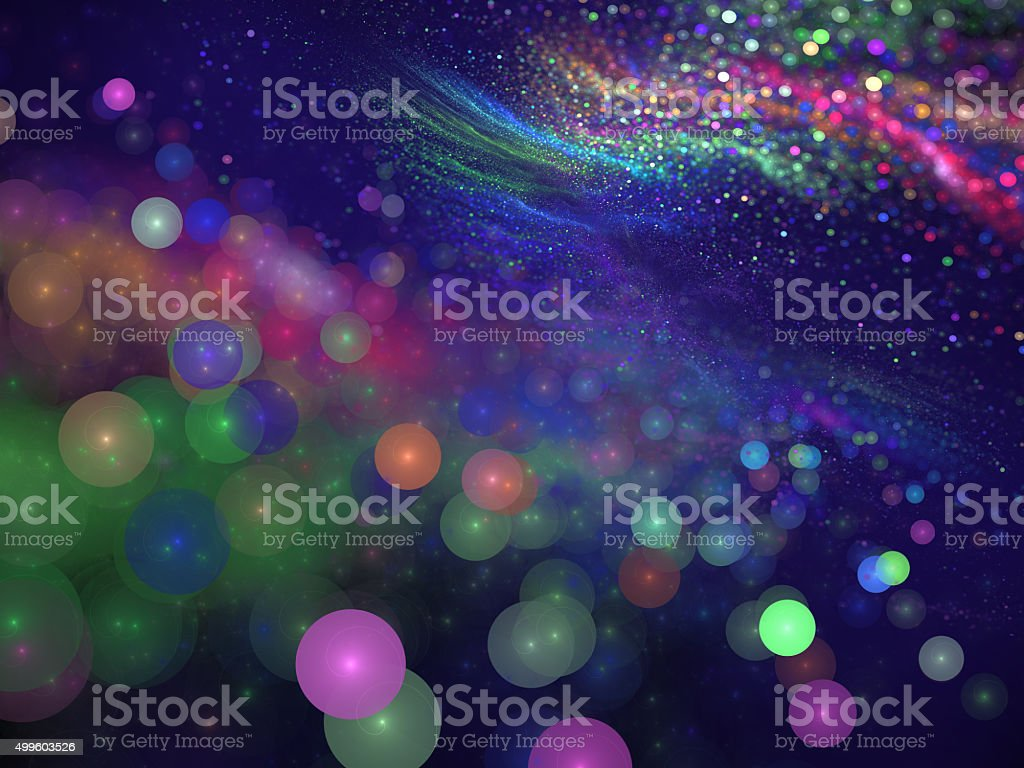 colorful festive abstract background stock photo