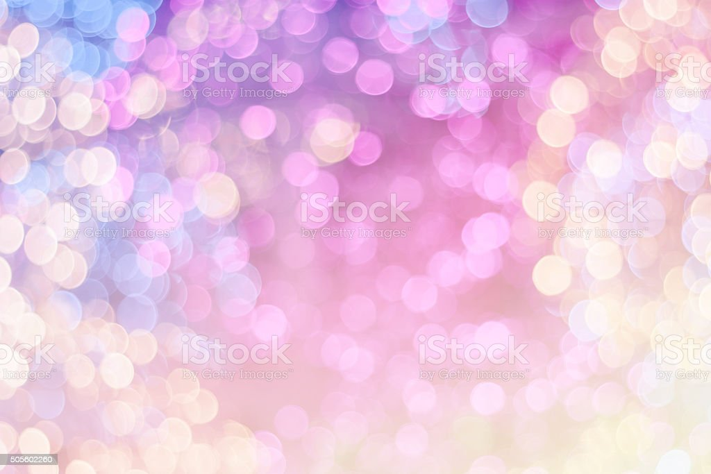 Colorful festive Christmas elegant abstract background with boke stock photo