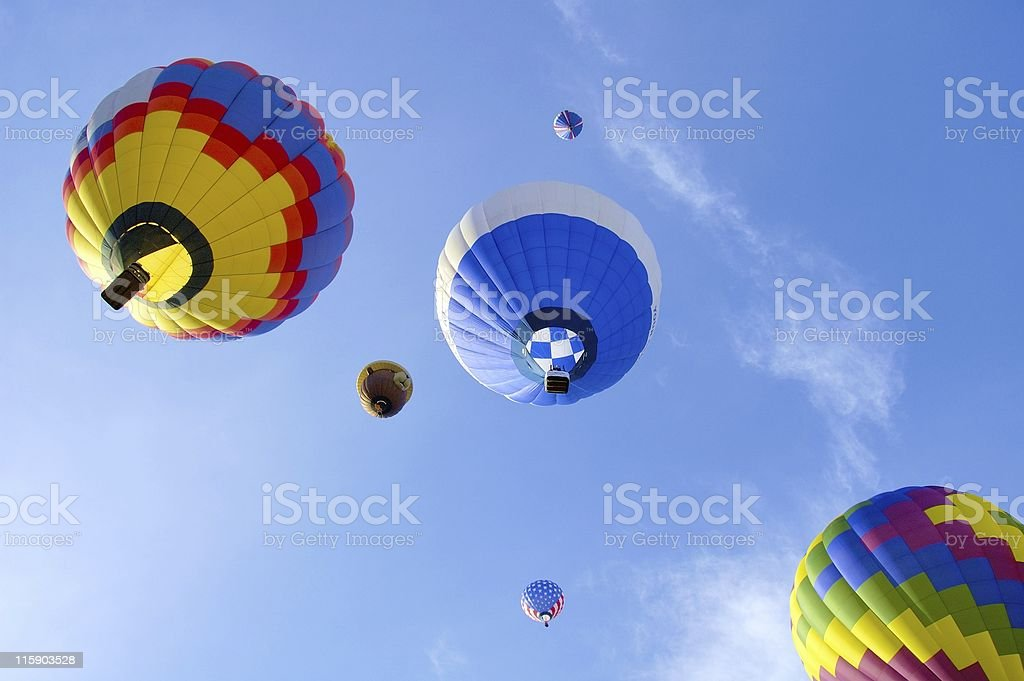 Colorful Flight royalty-free stock photo