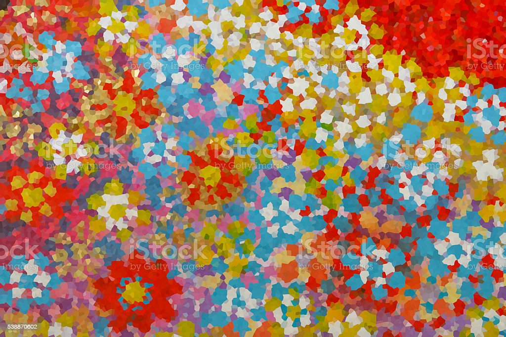 Colorful flower paiting background stock photo