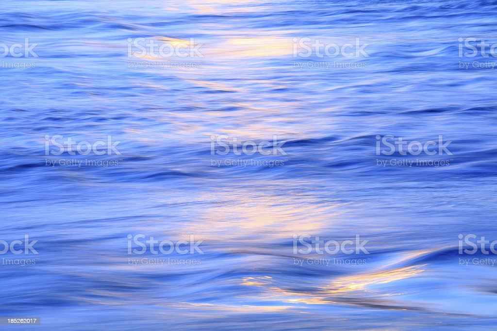 Colorful flowing water royalty-free stock photo