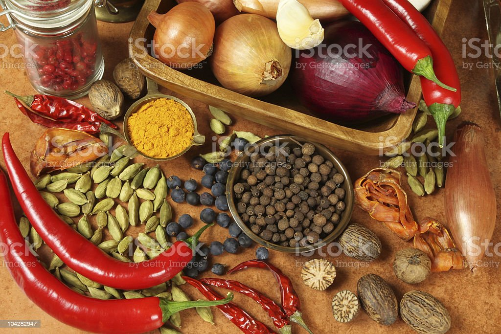 Colorful food royalty-free stock photo