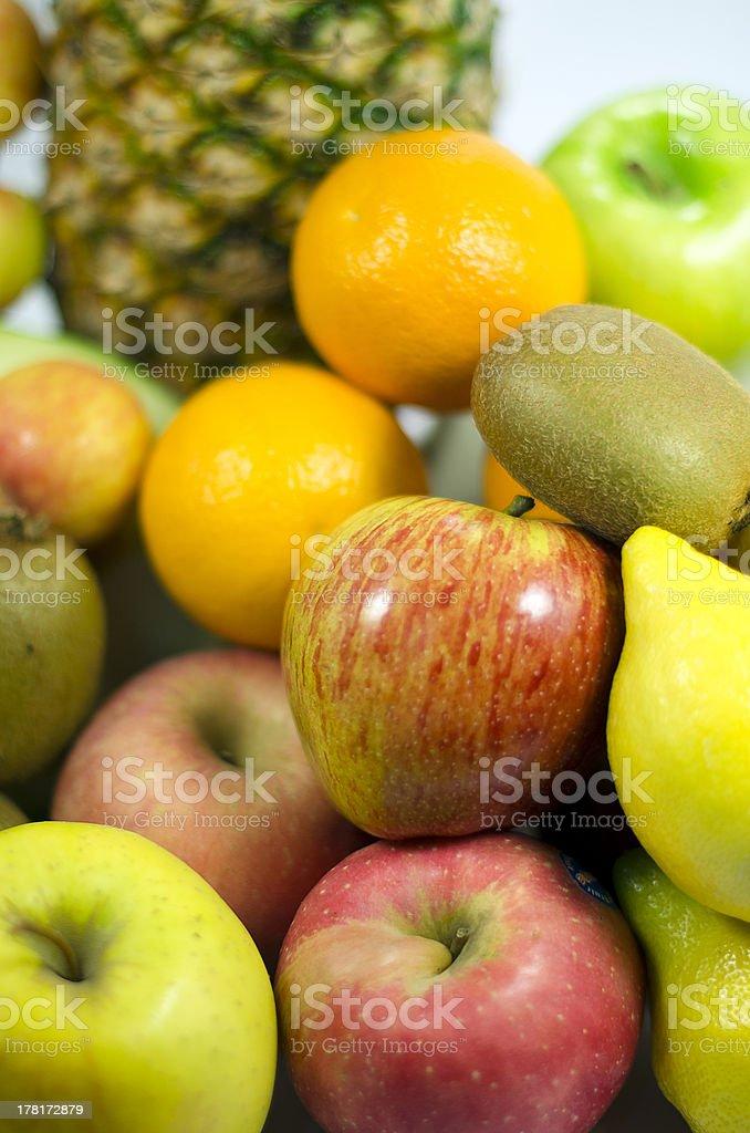 Gros plan coloré de fruits frais photo libre de droits