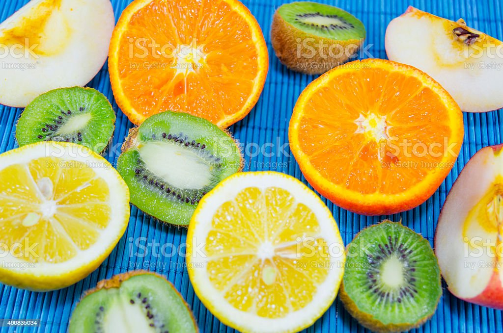 Colorful fruit wallpaper royalty-free stock photo