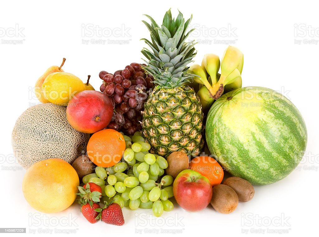 Colorful Fruits royalty-free stock photo