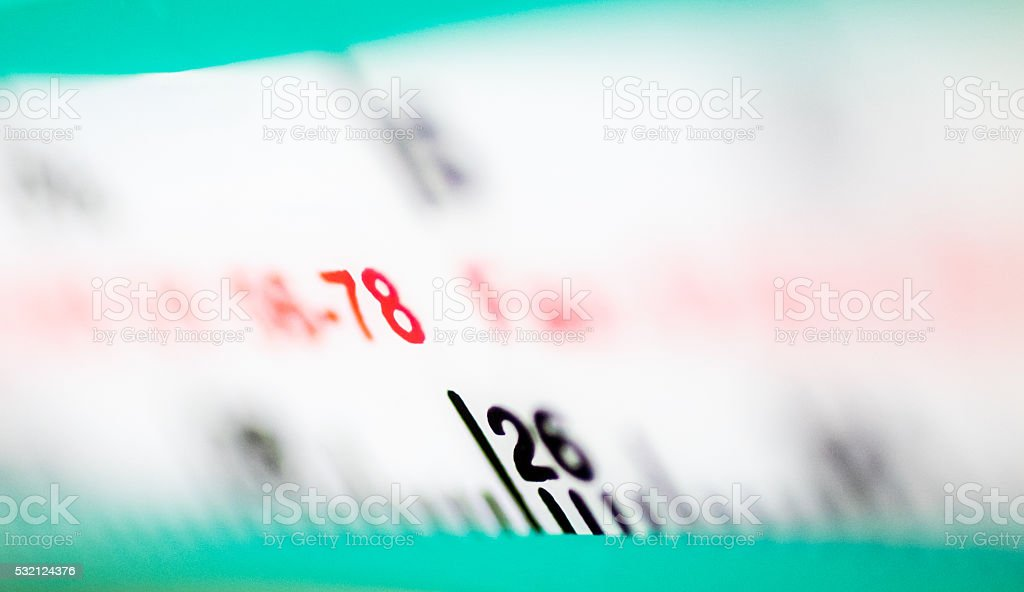 Colorful Gauge stock photo