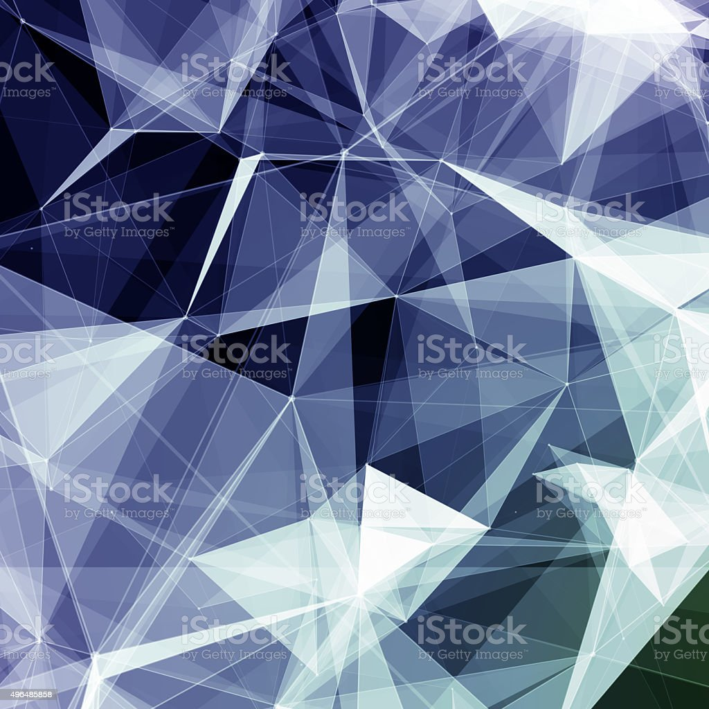 Colorful geometric abstract background stock photo