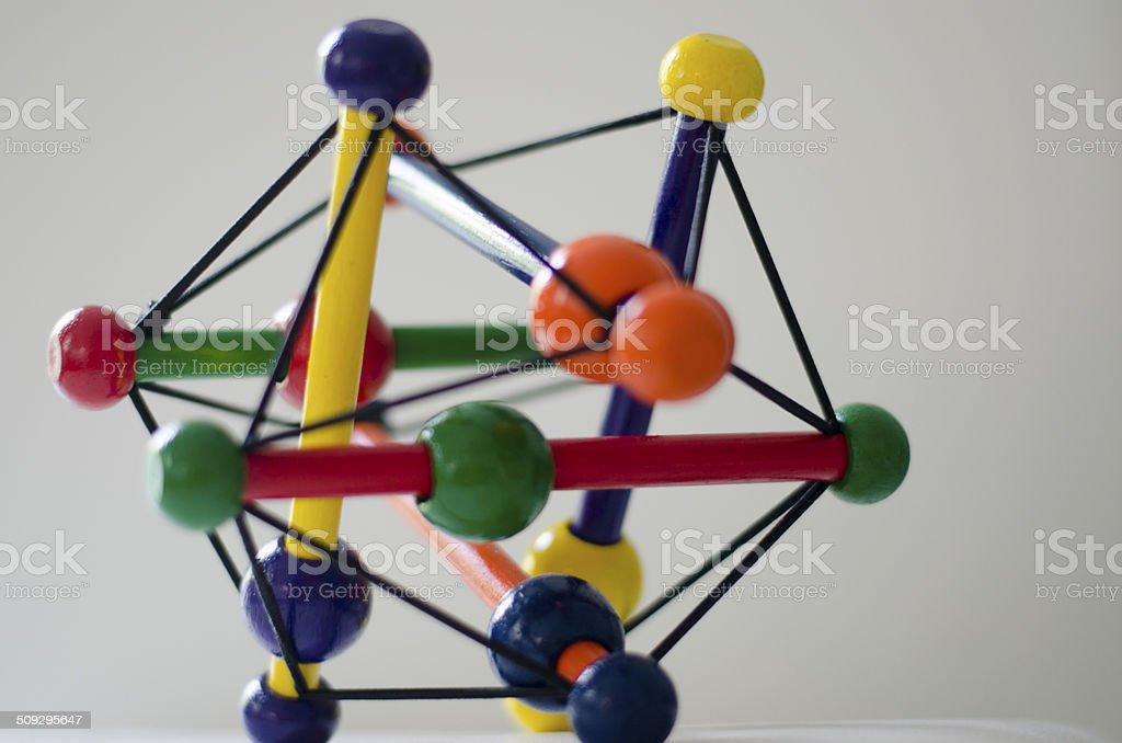 Colorful Geometric Shape stock photo